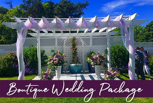 Boutique Wedding Package