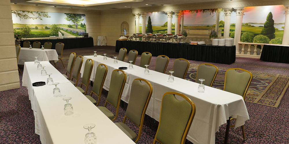 Host a function in the JFK Ballroom at the Cape Codder in Hyannis