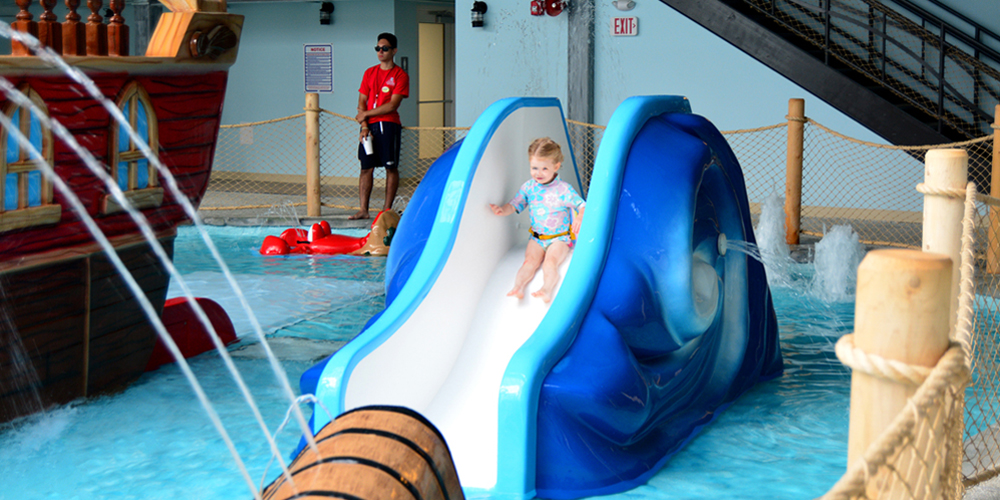 Kiddie Play area at the Cape Codder Water Park