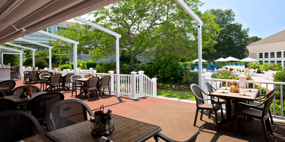 The Deck at the Cape Codder Resort and Spa