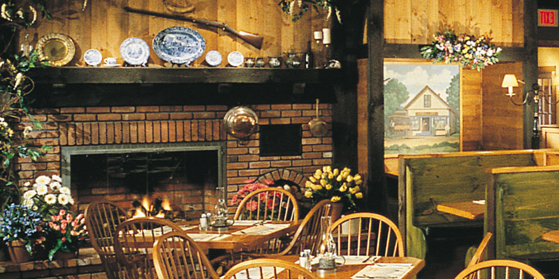 Relax in the Hearth 'n Kettle Restaurant