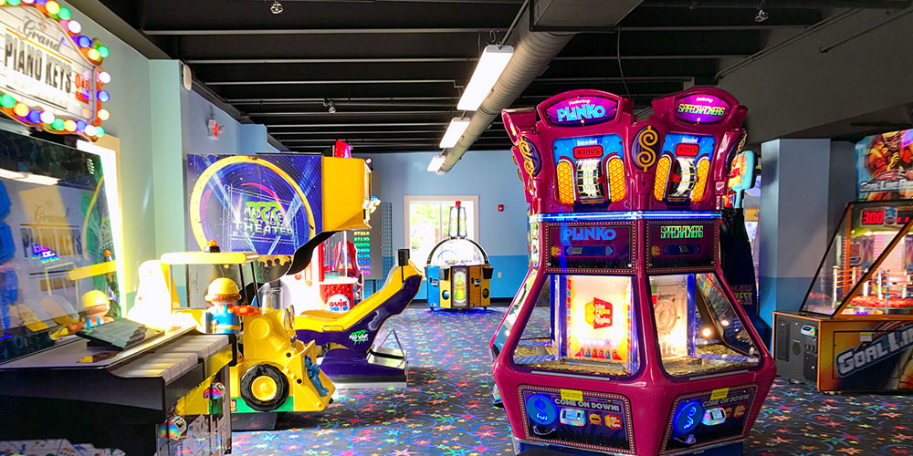 Video Arcade and Game Room