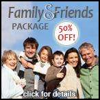 Family & Friends Package