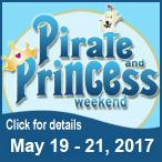 Pirate & Princess Weekend