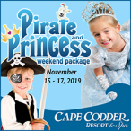 Pirate and Princess Weekend